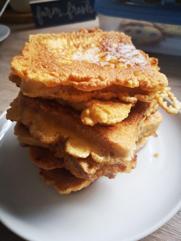 french toast zum frühstück am sonntag