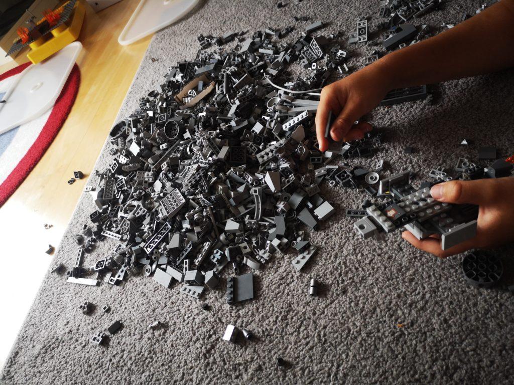 lego bauen am wochenende