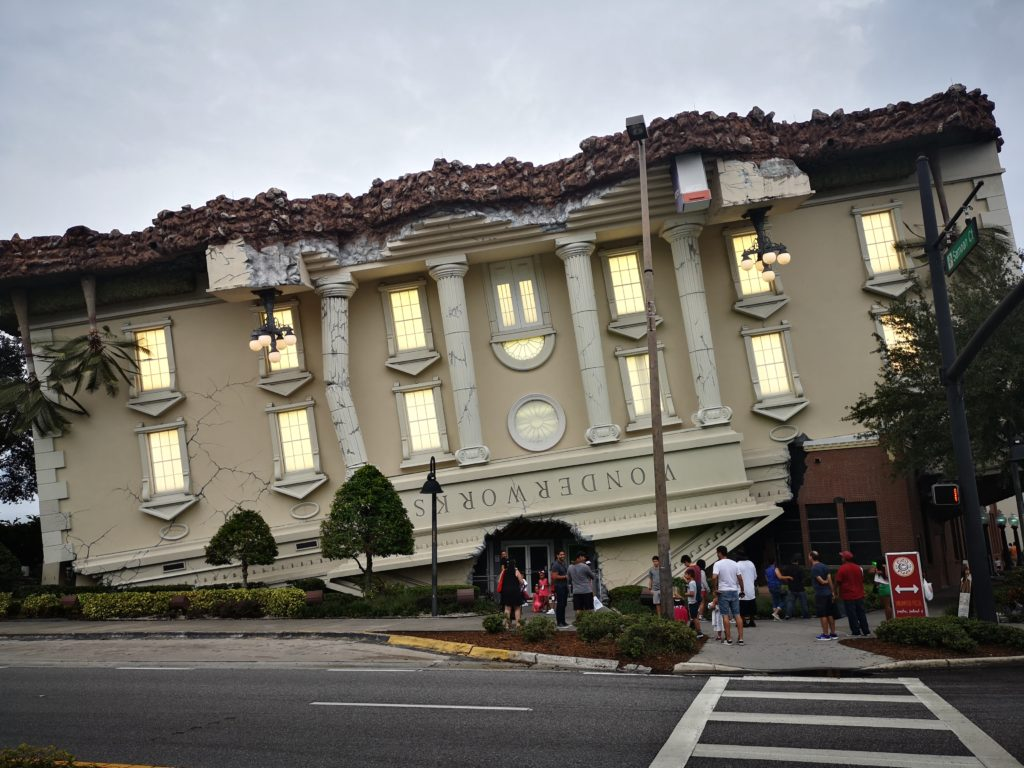 das wonderworks in orlando, fllorida