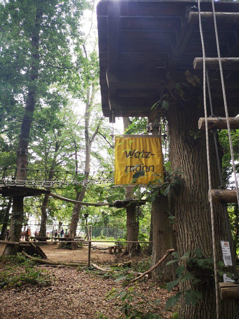 der watzmann kletterparcours