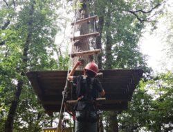 kletterspaß im kletterwald diez