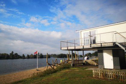 beach house auf dem campingplatz het groene eiland in holland