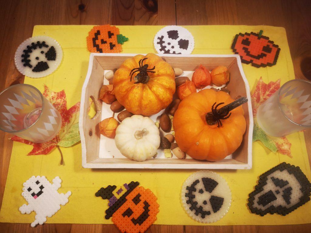 halloween untersetzer aus bügelperlen