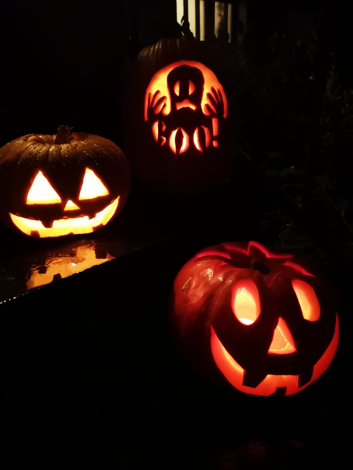 halloween kürbisse schnitzen