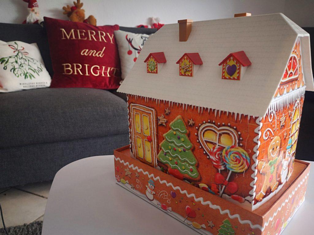 geschnekideen für weihnachten: Lebkuchenhaus von ravensburger