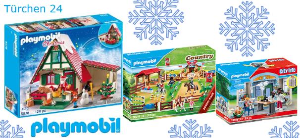 Playmobil Sets zu gewinnen