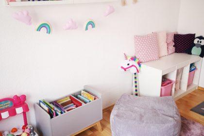 umgestaltung des kinderzimmers: das endergbenis
