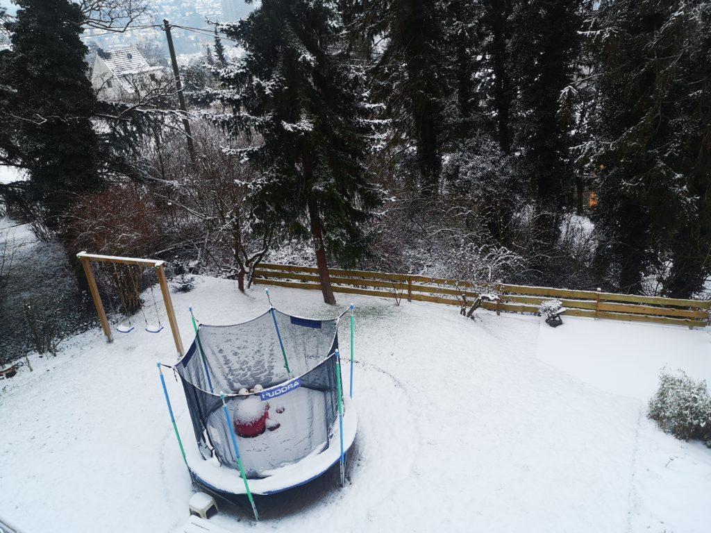 schnee am neunten geburtstag