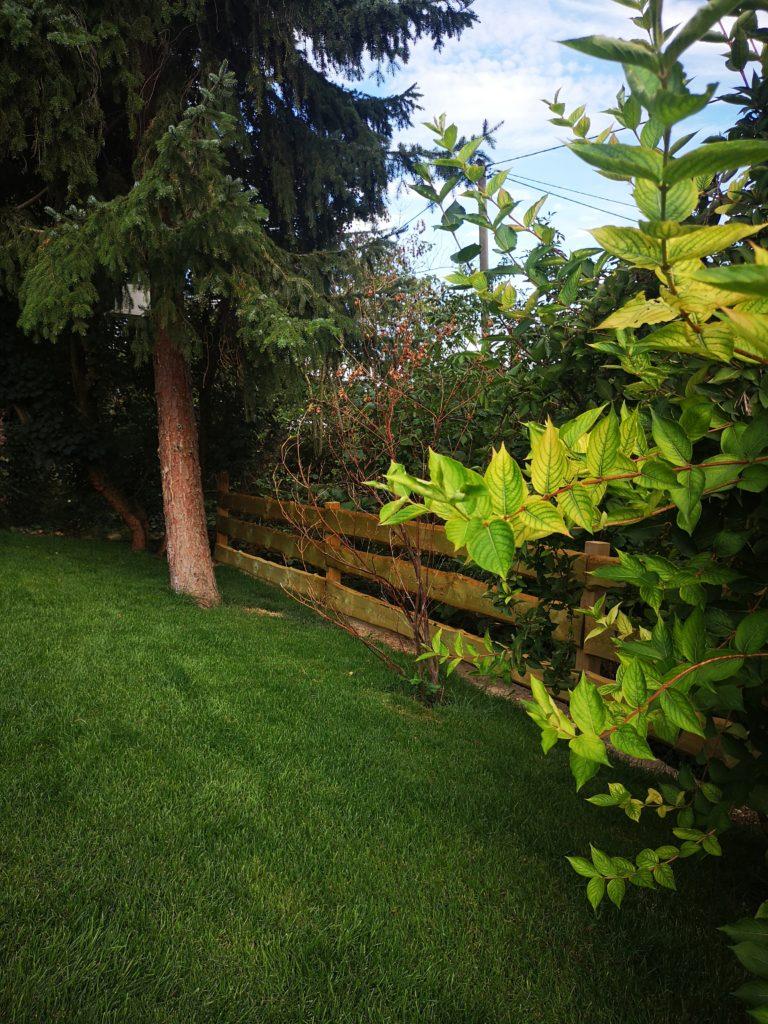 Gartenzaun im amerikanischen Ranch Stil