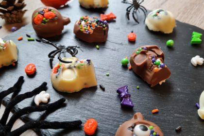 halloween schokoladen figuren